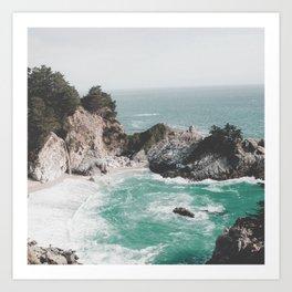 Big Sur / California Beach Art Print