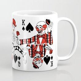 Sawdust Deck: Clown Triptych (Story 1) Coffee Mug