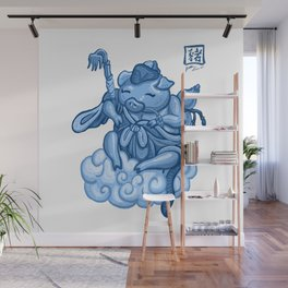 Year Of The Pig Porcelian Wall Mural