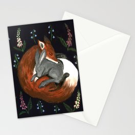 Foxgloves and Harebells Stationery Cards