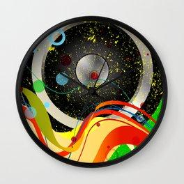 Jazz Musical Background Wall Clock