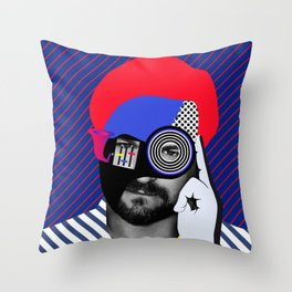 Solomun By Sebas Rivas Throw Pillow