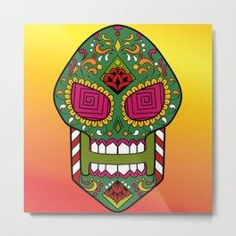 Sugar skull #15 Metal Print