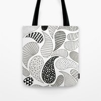 paisley Tote Bags featuring Paisley by Anita Ivancenko