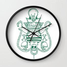 Captain Nicetits Wall Clock