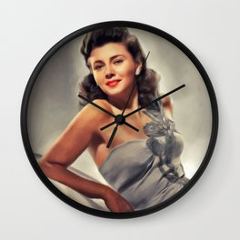 Lenore Aubert, Vintage Actress Wall Clock
