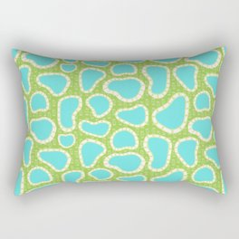 Hot Springs Pools - Pattern by Mellie Test Rectangular Pillow