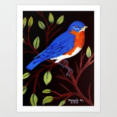 Pretty bird Art Print
