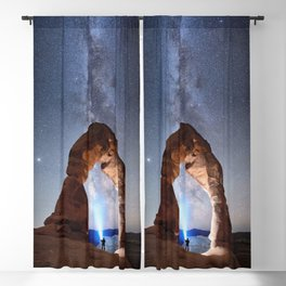 Milky Way Night sky in Moab Arches National Park Starry Night Pointer Utah USA for #Society6 Blackout Curtain