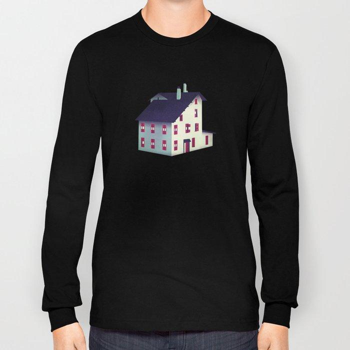 Mountain Castle - Pattern Long Sleeve T-shirt