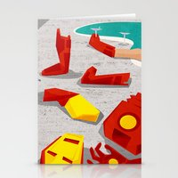 mod Stationery Cards featuring Iron-Mod by modHero