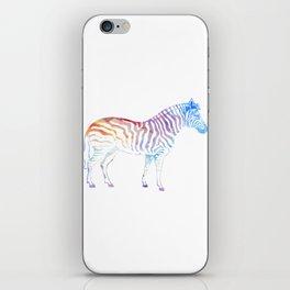 Horse Pony Riding Friesian Haflinger Zebra Gift iPhone Skin