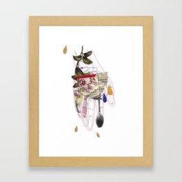 Gurdulù's hand Framed Art Print