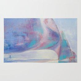 Painting ''Sky'' by Diana Grigoryeva Rug