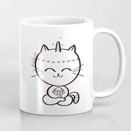 Lily Unicorn Kitty Coffee Mug