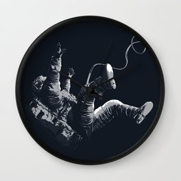 Astronaut - Death By Black Hole Wall Clock
