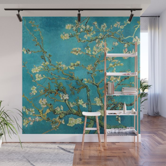Vincent Van Gogh Blossoming Almond Tree Wall Mural