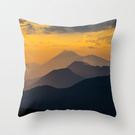 Sunset El Hoyo, Nicaragua Throw Pillow