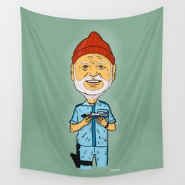 The Life Aquatic with Steve Zissou - Bill Muray Wall Tapestry
