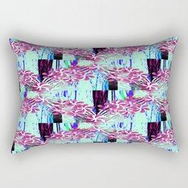 Flower Garlands Rectangular Pillow