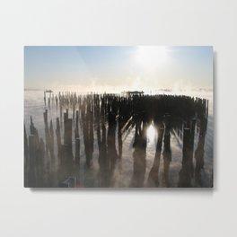 Bay Fog 1 Metal Print