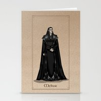 valar morghulis Stationery Cards featuring Melkor by wolfanita