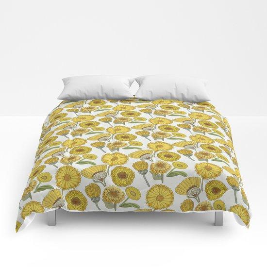 Calendula Florals Comforters
