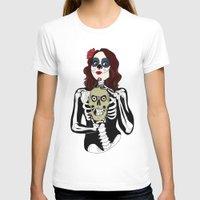 dia de los muertos T-shirts featuring Dia de los muertos by Paloma  Galzi