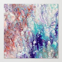 Fantasy (red, blue, purple) Canvas Print