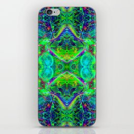 Techno Electric III (Ultraviolet) iPhone Skin
