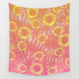 Sunflower Party #4 Wall Tapestry