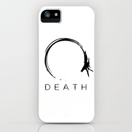 Arrival - Death Black iPhone Case
