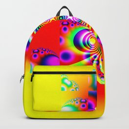 Fractal - Power Flower Backpack