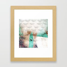 Storm in us Framed Art Print