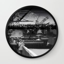 Focused Distraction Wall Clock