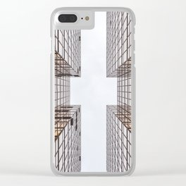 Skyscraper Clear iPhone Case