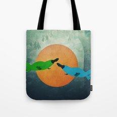 Platypus Love Tote Bag