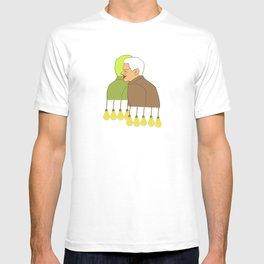 Golden lights modern pop art T-shirt