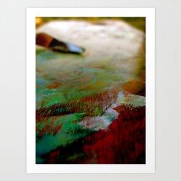 Palette Cleanser Art Print