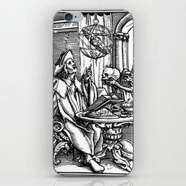 Danse Macabre. XXVII. The Astrologer iPhone Skin
