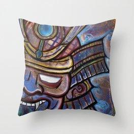 Shogunz Throw Pillow