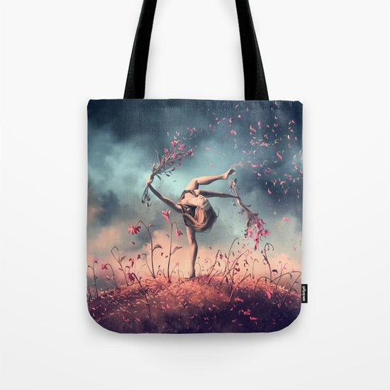 VIRGO from the Dancing Zodiac Tote Bag