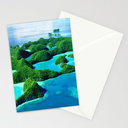 Glimpses of Heaven: Palau 70 Islands In Micronesia Stationery Cards