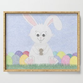 Easter Bunny Serving Tray