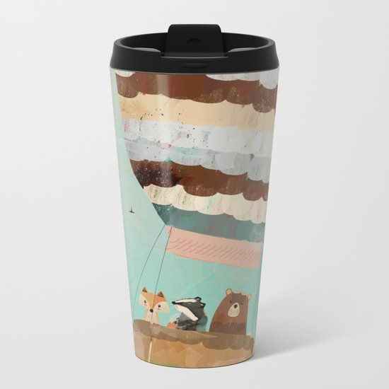 a little wondrous adventure Metal Travel Mug