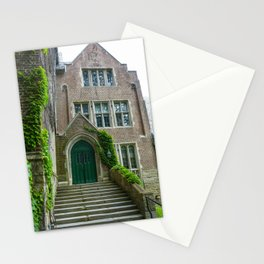 Who Knocks at the Door of Learning? Stationery Cards