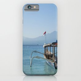 Boat ready to sail iPhone Case