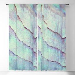 IRIDISCENT SEASHELL MINT by Monika Strigel Blackout Curtain