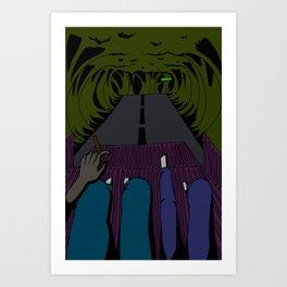 Zelda Ave at 1 AM Art Print