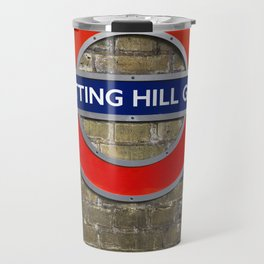Notting Hill Gate Tube Sign Travel Mug